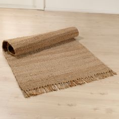 Jute rug for underneath my reading chair.
