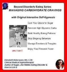 Managing carbohydrate intake is KEY to preventing adult onset diabetes. Work directly with your own RN, Clinical Medical Hypnotherapist each day & change your health outcomes. Always FREE MP3 SESSIONS on www.hypnosis-audio.com