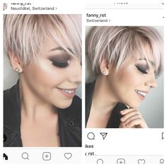 Short Hair Styles Easy, Pixie Styles, Layered Hairstyles, Short Hairstyles, Bleach Hair, Beauty Makeup, Hair Makeup, Creative Hairstyles, Pixie Cut