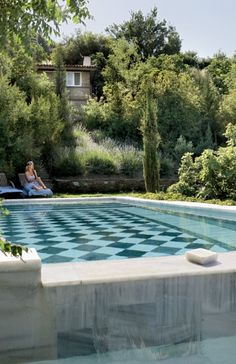 Hockney's Pool