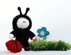 Lady bug Doll