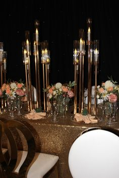 Event Decor, Events, Candles, Candy, Candle Sticks, Candle