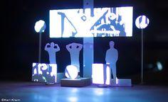 "Karl Kliem for http://www.bethelines.com/be/2013/may/30/karl-kliem-minimalist-music-visualizations/  ""Mouse on Mars Tour"""
