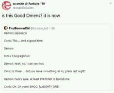 Dnd Funny, Stupid Funny, Hilarious, Tumblr Funny, Funny Memes, Good Omens Book, Gay, Writing Promps, Fandoms