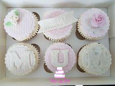 Mother's Day Cookies, Cupcake Cookies, Cupcake Toppers, Mothers Day Cakes Designs, Mothers Day Cupcakes, Mother And Father, Mother Gifts, Mini Cakes, Cup Cakes
