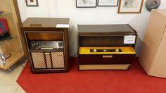 zwei Radios mit LP bei HIOB Bellach  #Schnäppchen #Trouvaille
