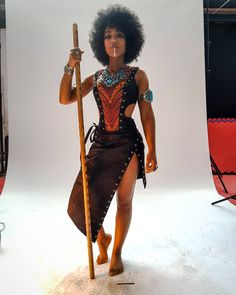 Farvadin of Madoda's dress idea Black Women Art, Black Girls, African Beauty, African Fashion, My Black Is Beautiful, Beautiful People, Shuri Black Panther, Style Afro, Fashion Mode
