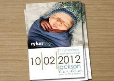crochet hat baby announcement
