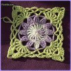 Two square crochet pillows   Fionitta.com