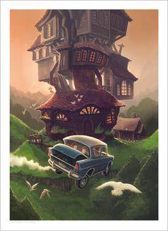 Harry Potter and the Chamber of Secrets, Kazu Kibuishi