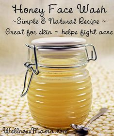 Honey face wash a simple homemade alternative to conventional cleansers that strip skin of its natural oils. Honey is naturally anti-bacterial and nourishing.