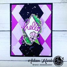 More inspiration from our design team! • @ark513 I like creating cards to have on hand for any unexpected event that calls for a card. This one was made using Joy Clair Stamps - Succulent Frame Digital Set.  #snailmail #photooftheday #sharehandmadekindness #cards #cardsofinstagram #cardmaker #cardmakerofinstagram #diycards #cardideas #maker #makergonnamake #artsandcrafts #papercrafting #dudescraftoo #artist #artistofinstagram #handmadecards  #homemadecards #stamping #stamps #crafting #diy… Succulent Frame, Arts And Crafts, Paper Crafts, Card Maker, Diy Cards, Homemade Cards, Stamping, Branding Design, Crafting