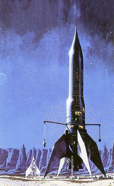 Exo Rocket Art