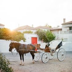 A horse drawn carriage is the only wedding transportation allowed on the island of Spetses but is one of the most romantic touch to your wedding day!!! #Wedding #weddings #love #weddinginspiration #beautiful #bridetobe #weddingplanning #engaged #sweet #pretty #weddingideas #thehappynow #thatsdarling #pursuepretty #flashesofdelight #livecolorfully #nothingisordinary #rslove #Weddingphotography #Weddingphotographer #Engagement #Portrait #vscofilm #vsco #wedding #stylemepretty #theknot…