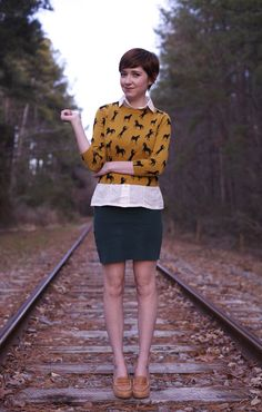 i swear she is the cutest human ever! love her style and her blog: http://theclothes.blogspot.com