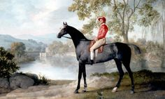 'Stubbs admires rural workers just as he admires horses' ... George Stubbs's painting Euston. Photograph: PA