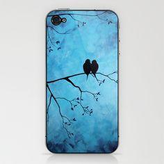 Love Birds iPhone & iPod Skin by Lynsie Petig - $15.00