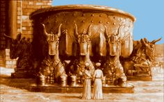 The Laver of the Temple of Solomon - The King forever linked to The Queen of Sheba in biblical text and in world-wide legend.