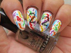 My 22nd birthday nails / nail art