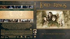 The Lord of the Rings Trilogy Blu-ray Custom Cover