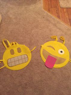 Winky emoji costume