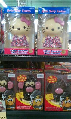 Hello Kitty London chocolate figure <3