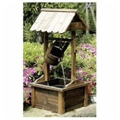 Wishing Well Water Fountain