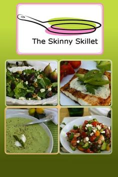 The Skinny Skillet Low Carb and Low Calorie Recipe Site and iPhone/iPad App