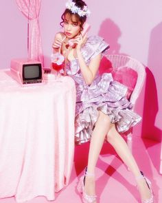 NYLONの永遠のミューズ #水原希子 にロングインタビューを敢行今彼女が注目する80sアイドルスタイルとともにお届け June issue P12 KIKOS greatest HITS! model @i_am_kiko dress @ryanlostudio skirt(inside) #vintage head accessory @baby_the_stars_shine_bright pierce #vintage shoes @mikiosakabe #nylonjapan #nylonjp #fashion #kiko #kikomizuhara #80s #idol #interview #muse #pink #caelumjp #coordinated #coordinates #ootd #outfit #coordinate #code #instafashion  via NYLON JAPAN MAGAZINE OFFICIAL INSTAGRAM - Celebrity  Fashion  Haute Couture  Advertising…
