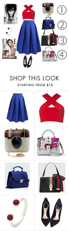 """""""с чем носить юбку солнце?"""" by inga-gill on Polyvore featuring Motel, Paula Cademartori, Relaxfeel, Gucci, Christian Dior, women's clothing, women, female, woman and misses"""