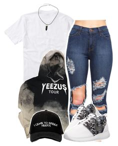 """I Came to Break Hearts"" by queen-tiller ❤ liked on Polyvore featuring Quiksilver, NIKE and Manolo Blahnik"