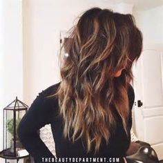 Long Layered Haircuts Back View Best Hairstyles For Popular Haircuts Picture 2015 Hairstyles, Pretty Hairstyles, Layered Hairstyles, Layered Haircuts For Long Hair, Choppy Layers For Long Hair, Long Layered Hair Wavy, Long Choppy Haircuts, Hair Styles Long Layers, Long Layered Cuts