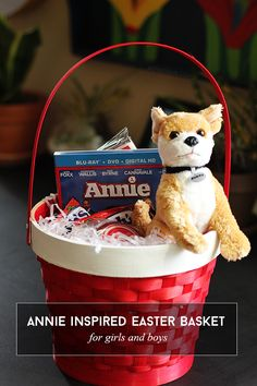 Annie Inspired Easter Basket via @sheenatatum