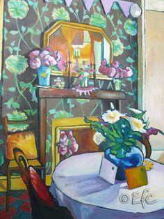 Wedding Day, oil on linen canvas, Brynmill, Swansea, Wales - Emma Cownie