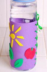 Middle School Construction & Sculpture Activities: Water Bottle Holder Craft