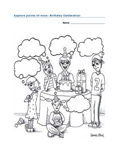 Worry Wall Coloring Page. Team Unthinkables. Superflex