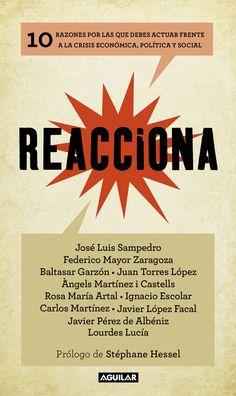 José Luis Sampedro...[et al.] , Reacciona
