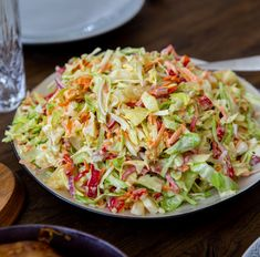Salad Recipes, Vegan Recipes, Sandwiches, Cold Dishes, Zeina, Greens Recipe, Dessert For Dinner, Everyday Food, Coleslaw