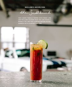 Bloody Mary Recipe: The Southbound  |  The Fresh Exchange