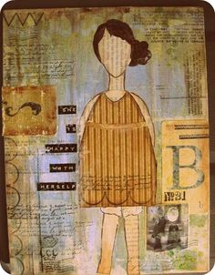 Online Mixed Media Classes & Stamps