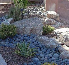 rockscape #DesertLandscape #desertlandscaping