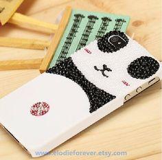 NEW Style  Bling Bling Full Diamond Shy Panda by Elodieforever, $17.99