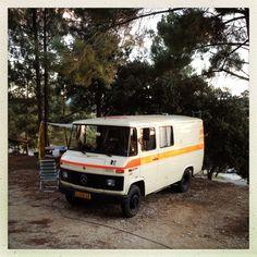 Mercedes camper / France