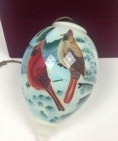 Rare Hand Painted Christmas Ornaments, Inside Technique, Ne Qwa Art - Li Bien
