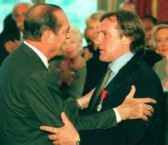 Jacques Chirac & Gerard Depardieu