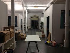 Langsam füllten sich die neuen Räume.