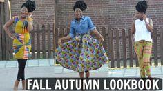 ANKARA : FALL / AUTUMN LOOKBOOK || AFRICAN PRINT || TERRACLES