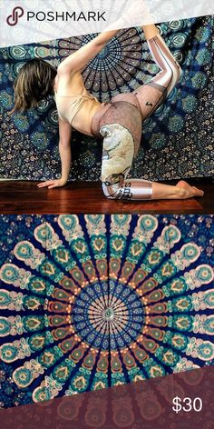 🌟🎁Yoga studio backdrop wall hanging spread🕉🎉 Make an offer to get good deals! 😃🎊🎁🎉🎄💰  😎Brand new.Handmade with natural dyes.   🤔Uses: bed spread, couch spread, curtains, wallhangings, Celling decor, beach mat, picnic mat, table cloth, 🕉 yoga & 🙏🏻meditation.  📐Size: Queen  bed)   🎀Material;💯% Cotton  🚿Wash: cold wash  💌➡️Website: http://www.rhyayfashion.com Sweaters Shrugs & Ponchos