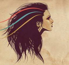 Battle hair