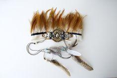 {DIY} it's tribal headdress time!   ohnorachio!                                                                                                                                                                                 More